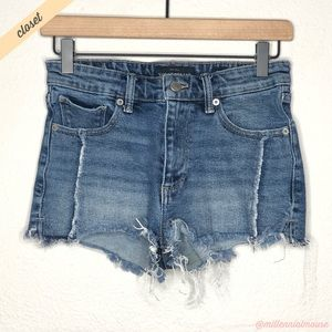 [Lucky Brand] The High Rise Cut Off Shortie Shorts